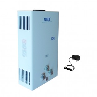 Aquah JSD20-K-LP 10L LP (Liquid Propane) Whole-House Tankless Water Heater