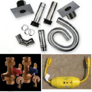 Bosch AquaStar Horizontal Vent Kit (AQ3PLUS)