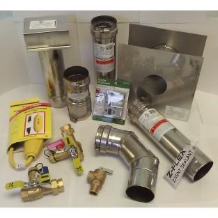 Bosch AquaStar Horizontal Vent Kit (AQ5EFPLUS)