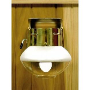 Humphrey Gas Light, Polished Brass (9THPB), Tie-on Mantle