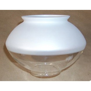 Humphrey Half Frosted Pyrex Replacement Globe L6-20A (1 Globe)