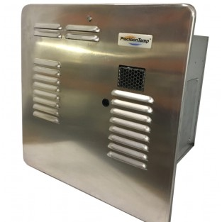 PrecisionTemp RV-550 EC LP (Liquid Propane) Tankless Water Heater with Unpainted Aluminum Door