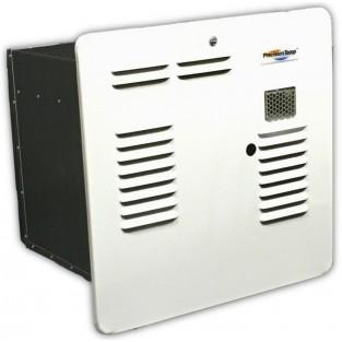 PrecisionTemp RV-550 EC LP (Liquid Propane) Tankless Water Heater with White Aluminum Door