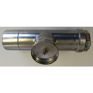 "Z-Flex Z-Vent 3"" Horizontal Condensation Drain Pipe (2SVEDWCF03)"