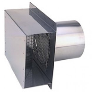 "Z-Flex 4"" Termination Box with 4"" Sleeve Stainless Steel (2SVSRTF04)"