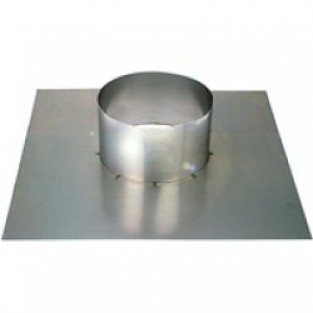 """Z-Flex 4"""" Flat Roof Flashing Stainless Steel Venting (2SVSSCSF04)"""