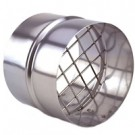 """Z-Flex 4"""" Termination Coupling Stainless Steel Venting (2SVSTPF04)"""