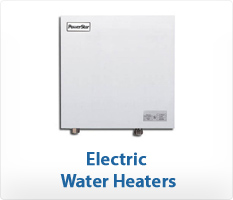 Bosch PowerStar Whole-House Electric Tankless Water Heaters and Ariston Mini-Tank Electric Water Heaters