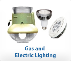 Humphrey Indoor Gas Lights and Verbatim LED Lights